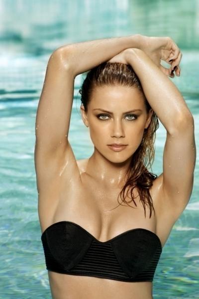 Amber Heard Modelling Gallery